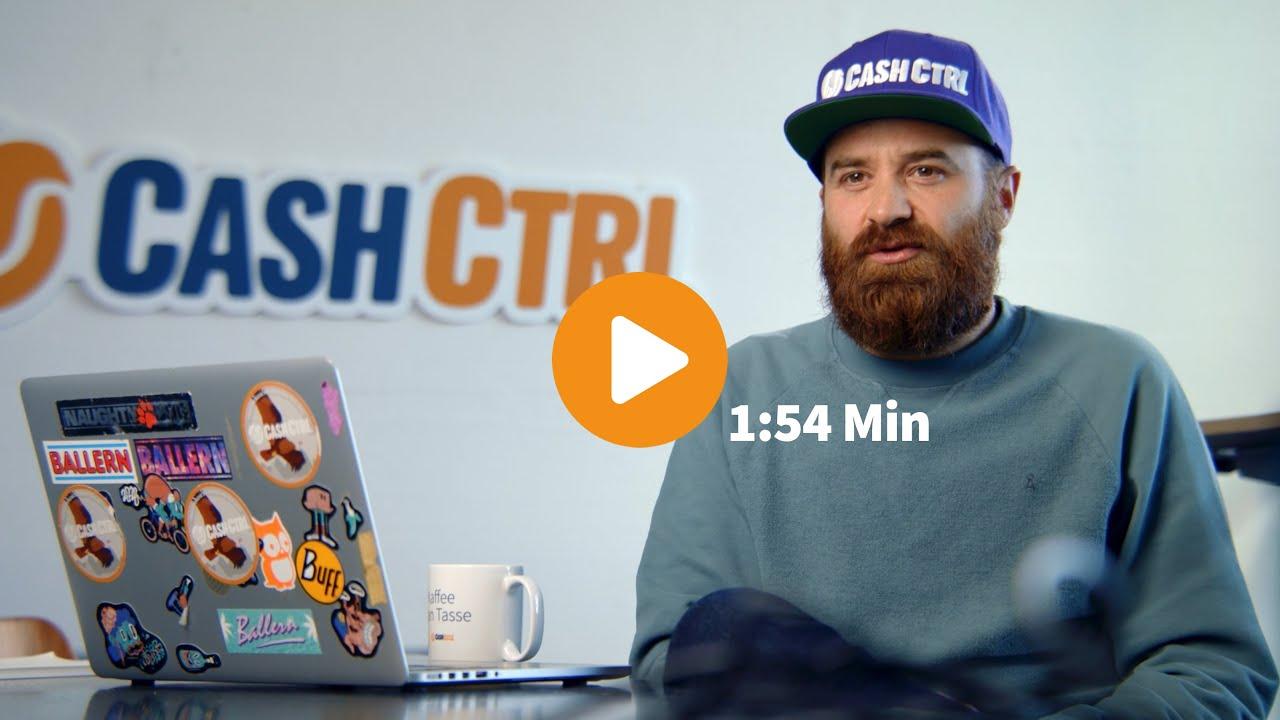 CashCtrl Onlinebuchhaltung vorgestellt. Das sind wir.