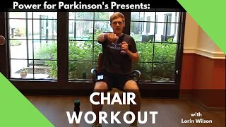 Thanksgiving Themed Parkinson's Chair Workout