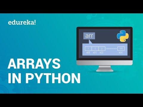 arrays-in-python-|-python-array-operations-|-python-tutorial-for-beginners-|-edureka