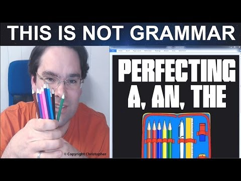 Definite and Indefinite Articles in English A, An, The How to use articles 'a', 'an', and 'the'?