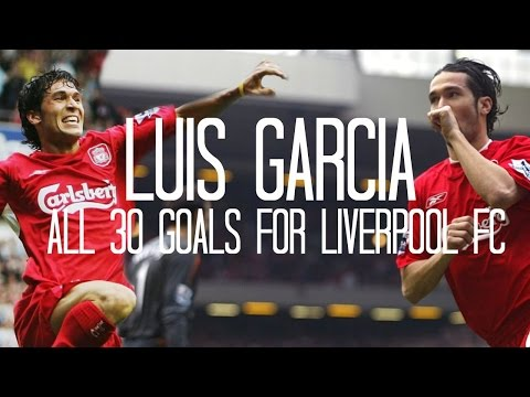 Luis Garcia - All 30 Goals for Liverpool FC - 2004/2007 - English Commentary (Just Goals)