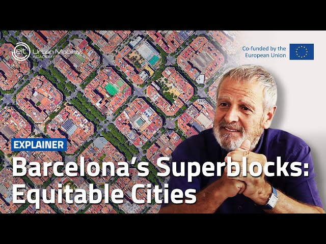 How can Superblocks foster more equitable cities? | With Salvador Rueda