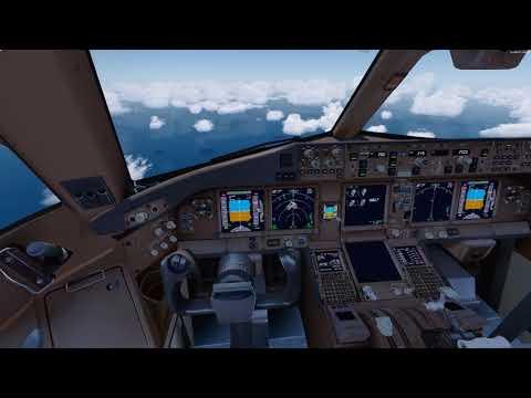 [P3D V4.1] Etihad 987   Barbados Arrival 4K