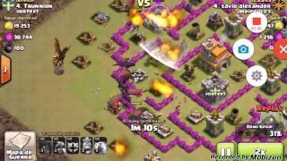 Clash of clans como atacar com dragão na guerra #1