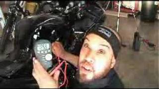 MOTORCYCLE BATTERY DRAINAGE