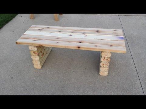 Видео как сделать скамейку фото 652