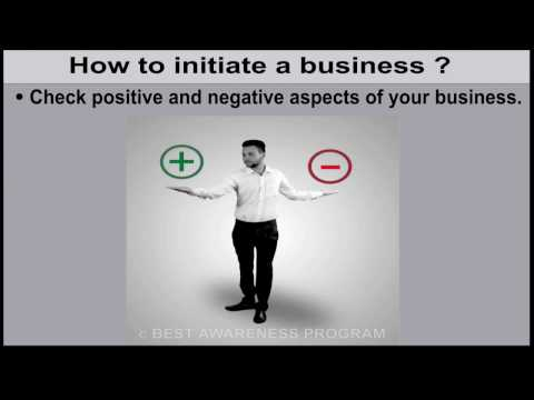 Money management: How to initiate business? Part 7 of 2nd term