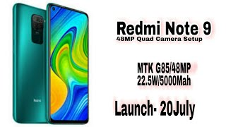 Redmi note 9 officiall specs, price, launch date / redmi note 9