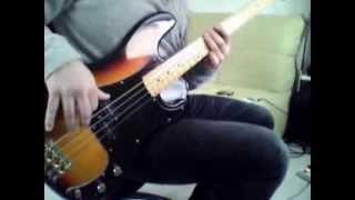 Cicatriz E.S.P. (Cut) | The Mars Volta Bass Cover | Epiphone Precision Bass Custom