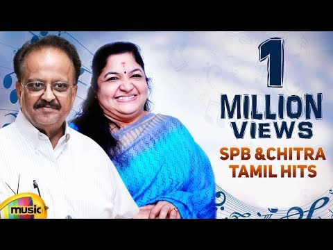 SPB & Chitra Tamil Hits | Top 10 Tamil Duet Songs | Back to Back Video Songs Collection