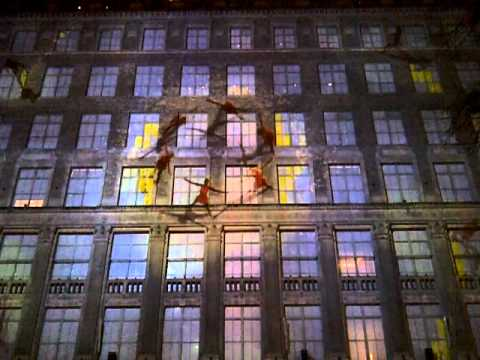 Saks NYC Christmas 2012 Travel Video