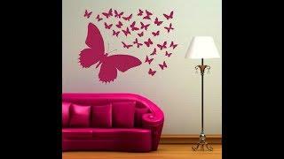 Как красиво украсить стену более 100 ИДЕЙ