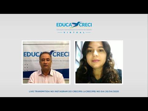 Educacreci Virtual – Live com Josiane Mafra sobre LGPD