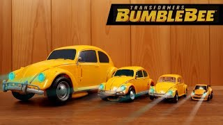 Different 7Types Bumblebee - Transformers Car to Robot Toys for Kids