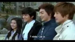 المسلسل الكورى فتيات قبل الزهور  الحلقة 19 ج2    b