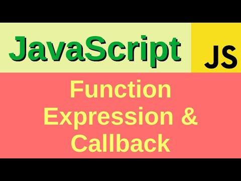 Function Expressions and Callback Functions - Basic JavaScript Fast
