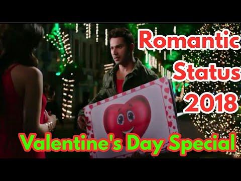 Valentine's Day Special | 2018 New Romantic WhatsApp Status Video | Varun Dhawan Purpose Kirti Sanon