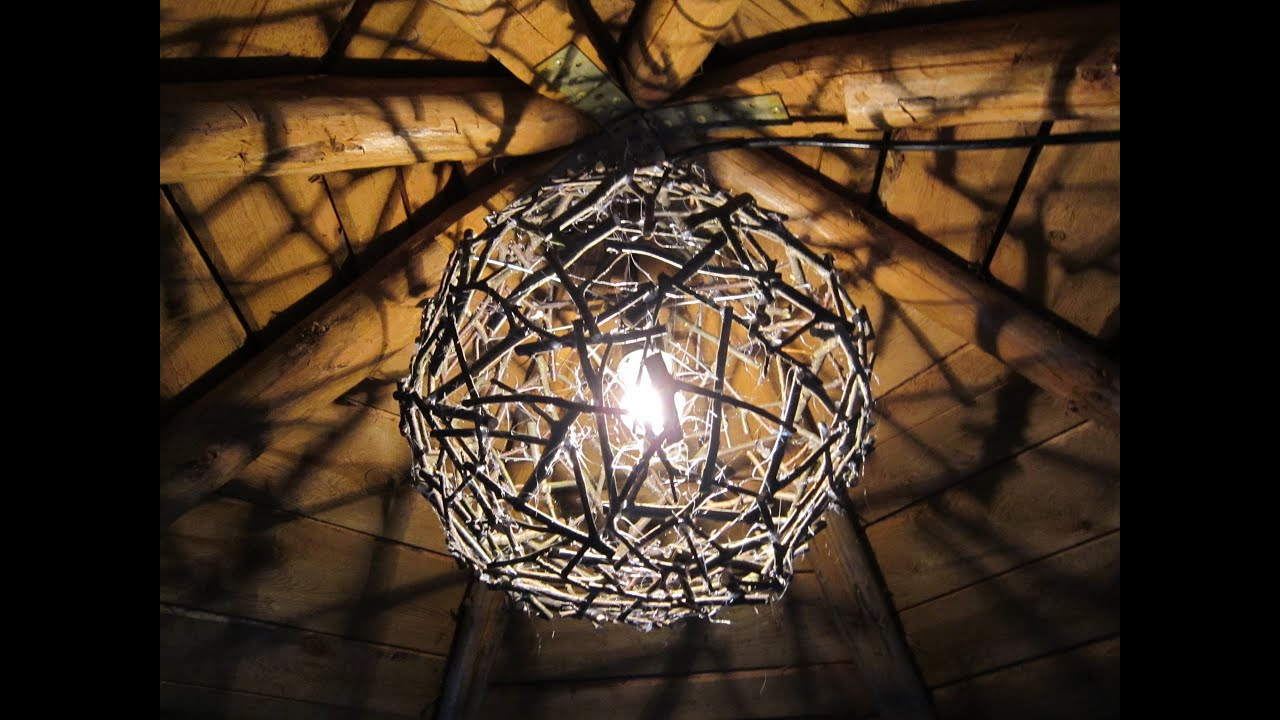 Coole Lampen Crafts Chandelier From Branches Youtube