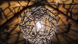 Как Сделать Люстру из природного материала Своими Руками / Crafts chandelier from branches(Стильная люстра из природного материала - веток от секрет мастера. Подробности здесь http://sekret-mastera.ru/?p=11332...., 2013-05-14T19:37:55.000Z)
