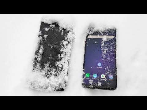 Samsung Galaxy S9. ЖЁСТКО! СНЕГ, вода и огонь. Тест Samsung Galaxy S9, S9 Plus / Арстайл /