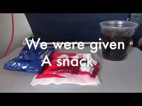 Delta a330-300 economy plus Flight Review Amsterdam-Boston