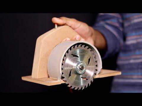 WOW! Amazing DIY Circular Saw From DC Motor