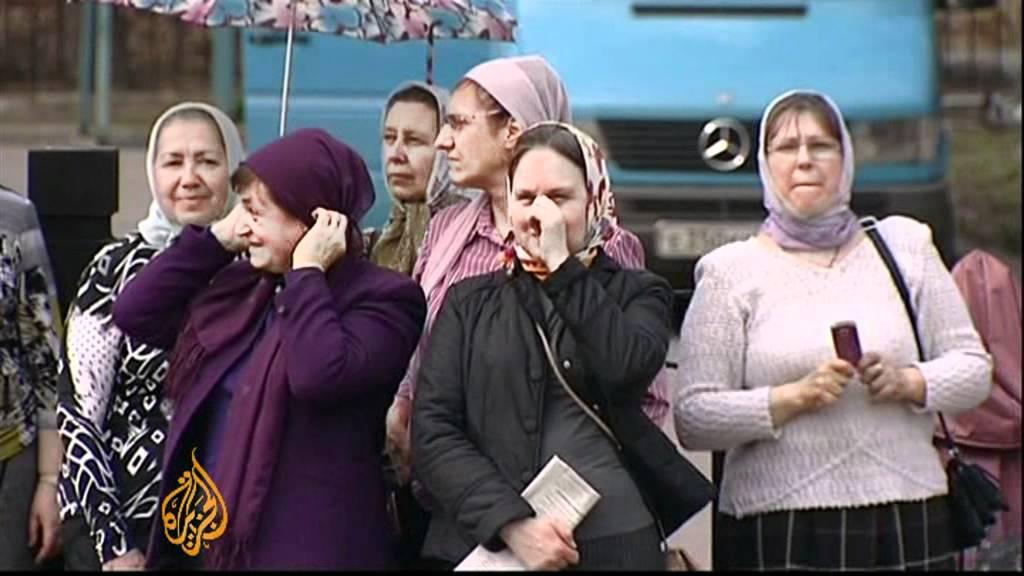 Russian Orthodox Church organises against Pussy Riot punks