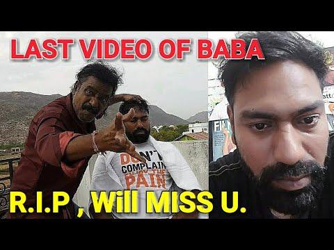 Last video head massage video of legendary baba Sen the cosmic barber.