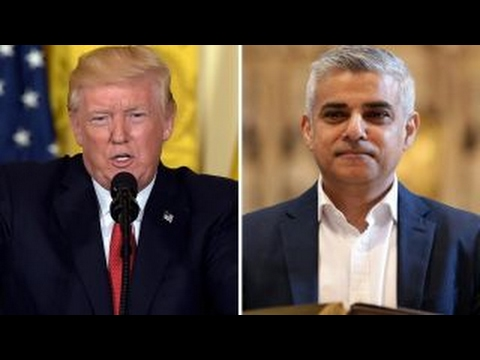 Trump criticizes London mayor