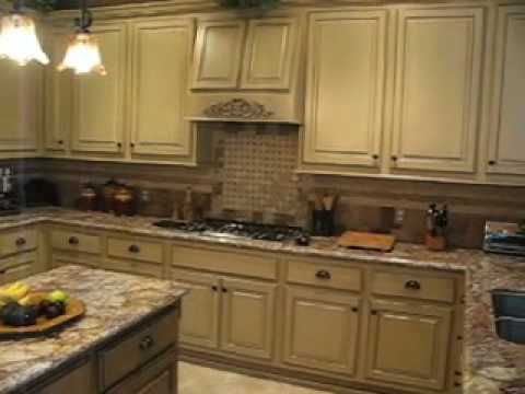 Kitchen cabinets before after hannon designs youtube for Cabinets before and after