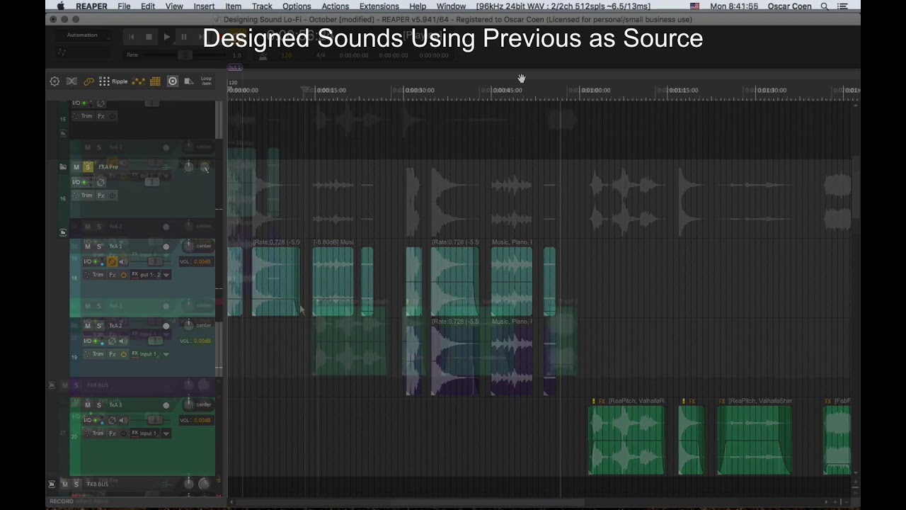 Designing Sound With Artifacts – An Experiment