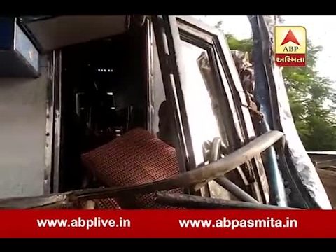 Two Bus Accident On NH Near Vadodara, 3 Died, Watch Video