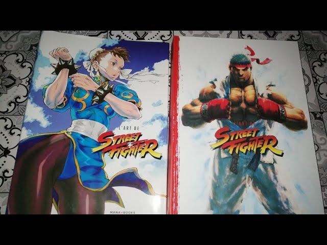 Présentation artbook livre l'art de street fighter