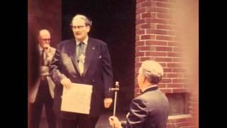 Manly P. Hall PRS Cornerstone Dedication Ceremony 1959