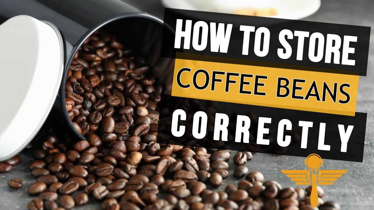 How To Store Coffee Beans - Crema Coffee Garage Australia