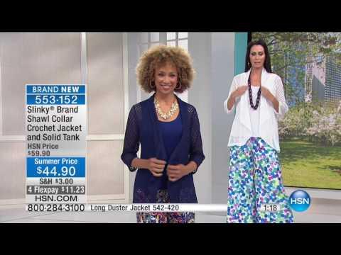 HSN | Slinky Brand Fashions 06.10.2017 - 06 PM