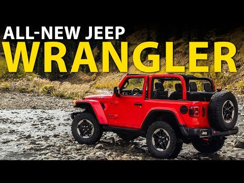 The All-New Wrangler Is A Jeepster For You Love - Autoline After Hours 401