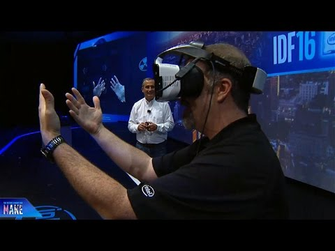 Intel announces untethered VR with Project Alloy (CNET News)