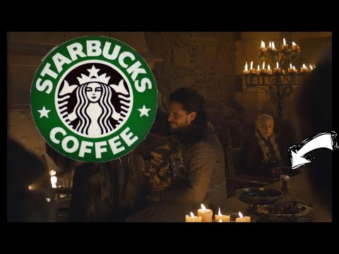 DJ QUEST - STARBUCKS COFFEE CUP SPOTTED IN GAME OF THRONES