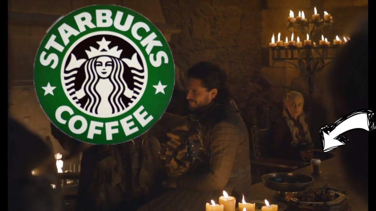Game Of Thrones Season 8 Episode 4 Starbucks Cup Scene Brightened 2 Stops Youtube