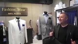 Blagodarnue pokupateli mugskie kostyumi fashion wear milano