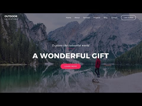 How to Make A Beautiful WordPress Website From Scratch!