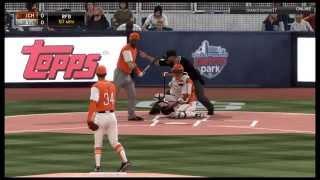 MLB 15 The Show | Nolan Ryan Gameplay Diamond Dynasty PS4