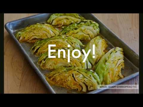 Roasted Cabbage Wedges | Ideal Protein Recipe