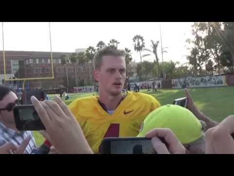 Max Browne speaks as the USC starting QB for the first time