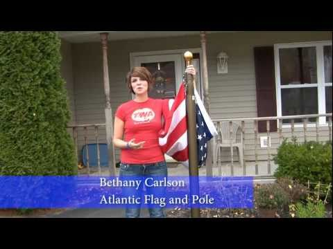 how to make your own flagpole