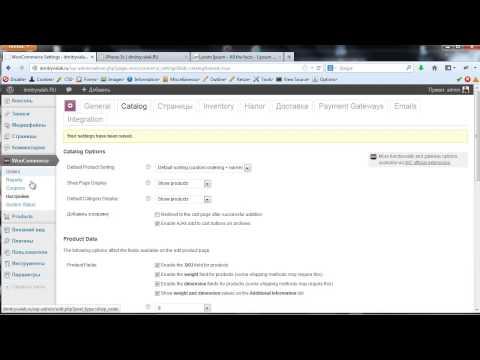Магазин на Wordpress. Урок 3.   Создание категорий и добавление товаров