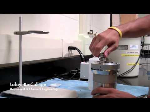 Thermophysical Characterization Calorimeter Standard Operating Procedure
