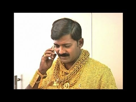 Tailored for Fame: Indian Man Wears $250,000 Shirt Made of Gold
