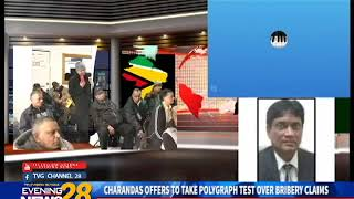 CHARANDAS OFFERS TO TAKE POLYGRAPH TEST OVER BRIBERY CLAIMS -14-01-19
